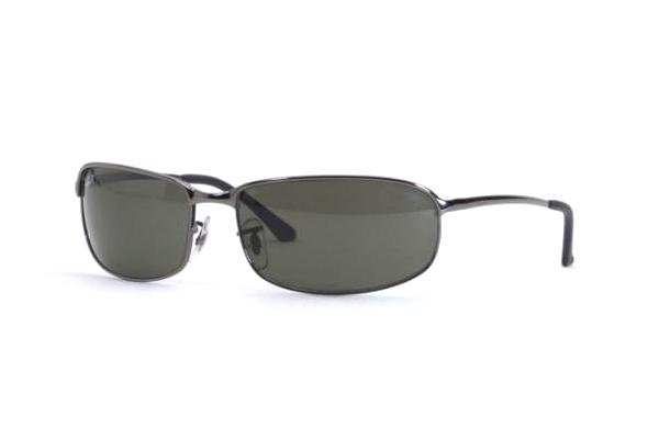 Очки Ray-Ban Highstreet RB3220-004 Gunmetal | Natural Green (G-15 XLT)
