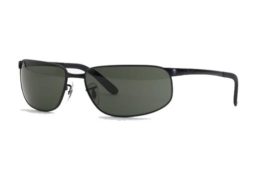 Очки Ray-Ban Highstreet RB3221-006 Matte BLack | Natural Green (G-15 XLT)