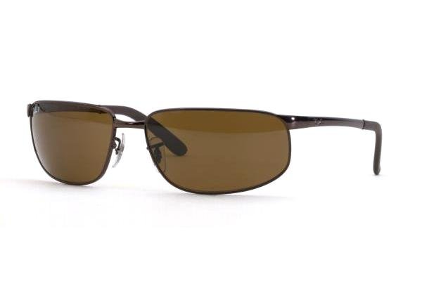 Очки Ray-Ban Highstreet RB3221-014-47 Brown | Brown Polarized