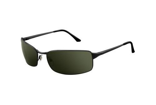 Очки Ray-Ban Highstreet RB3237-006-58 Matte BLack | Natural Green Polarized