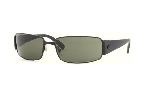 Очки Ray-Ban Highstreet RB3237-006 Matte BLack | Natural Green (G-15 XLT)