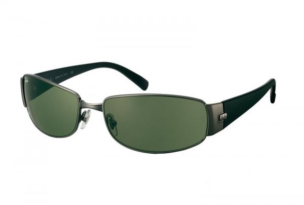 Очки Ray-Ban Highstreet RB3238-004 Gunmetal | Natural Green (G-15 XLT)