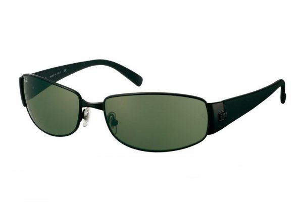 Очки Ray-Ban Highstreet RB3238-006 Matte BLack | Natural Green (G-15 XLT)