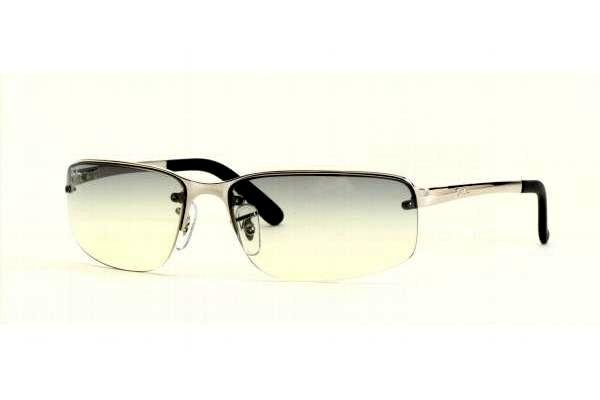 Очки Ray-Ban Highstreet RB3239-003-11 Silver | Faded Grey