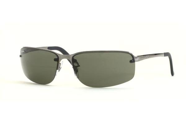 Очки Ray-Ban Highstreet RB3239-004-71 Gunmetal | Poly. Grey/Green