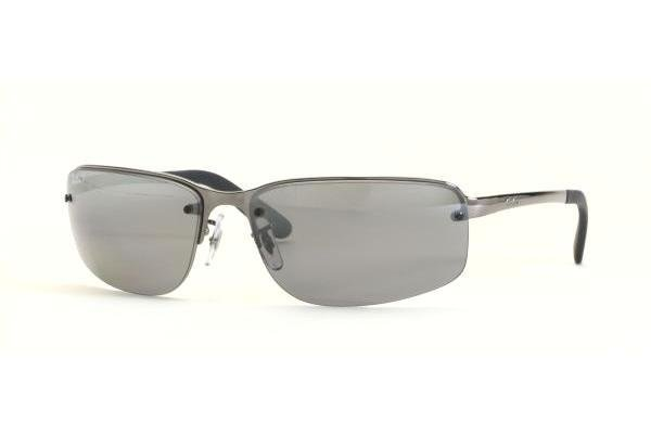 Очки Ray-Ban Highstreet RB3239-004-82 Gunmetal | Poly. Polar Smokey GSM Polarized P3