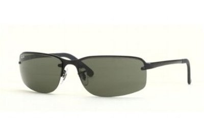 Очки Ray-Ban Highstreet RB3239-006-71 Matt Black | APX Grey/Green