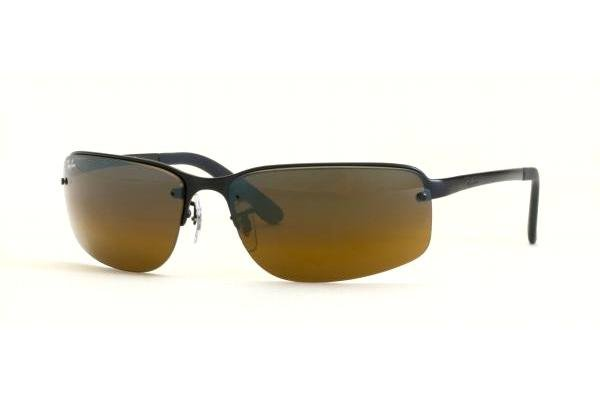 Очки Ray-Ban Highstreet RB3239-006-R4 Matte BLack | Brown Mirror Multilayer