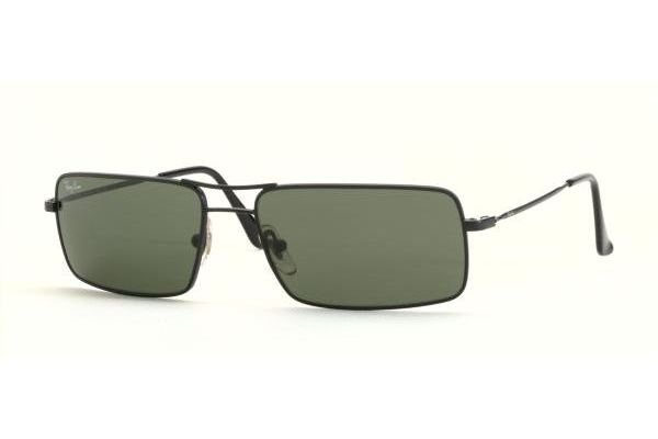 Очки Ray-Ban Highstreet RB3240-006 Matte BLack | Natural Green (G-15 XLT)