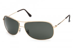 Очки Ray-Ban Highstreet RB3267-001-71 Arista/APX Grey/Green