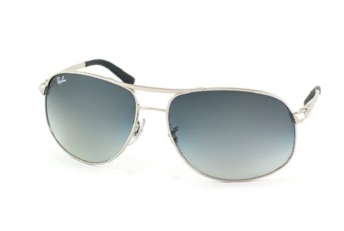 Очки Ray-Ban Highstreet RB3267-003-8G Silver/APX Gradient Grey
