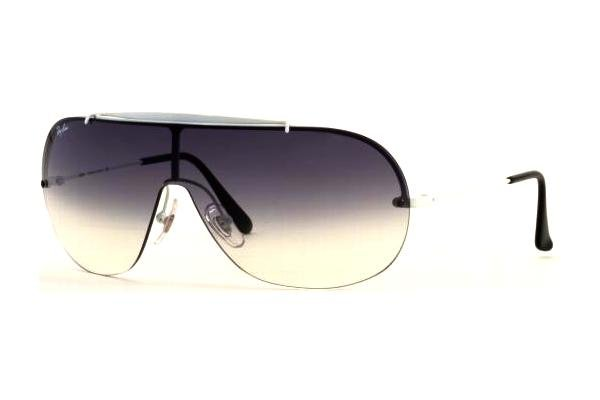 Очки Ray-Ban Highstreet RB3274-032-8G White Metal | Poly. Gradient Grey