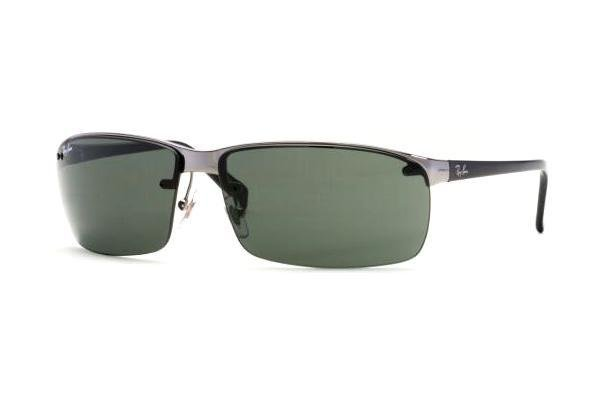 Очки Ray-Ban Highstreet RB3276-004-71 Gunmetal/Poly. Grey/Green