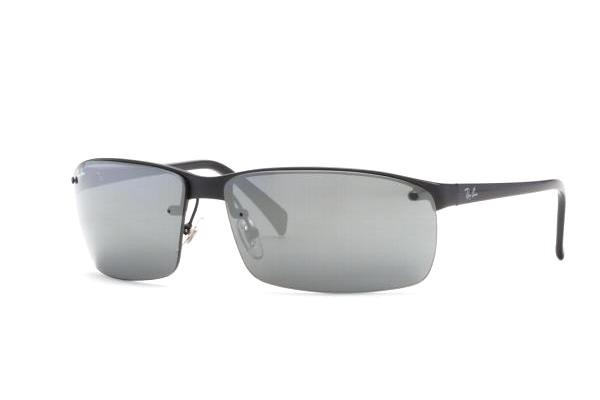 Очки Ray-Ban Highstreet RB3276-006-6G Matt Black  | APX Silver Mirror