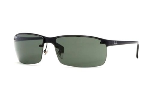 Очки Ray-Ban Highstreet RB3276-006-71 Matt Вlack | APX Grey/Green