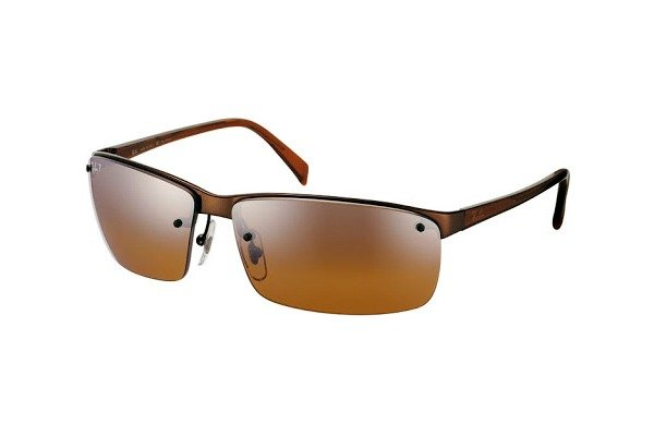 Очки Ray-Ban Highstreet RB3276-014-84 Brown/Brown Polar Gradient Silver Mirror