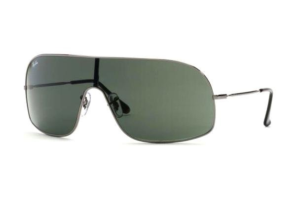 Очки Ray-Ban Highstreet RB3291-004-71 Gunmetal | APX Grey/Green
