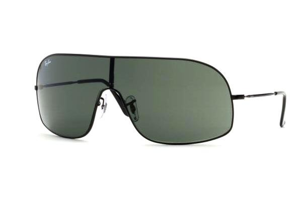 Очки Ray-Ban Highstreet RB3291-006-71 Matt Black | APX Grey/Green