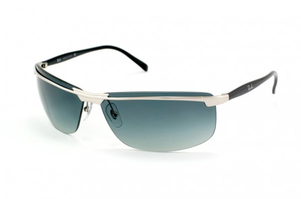Очки Ray-Ban Highstreet RB3308-003-8G Silver Shiny Black