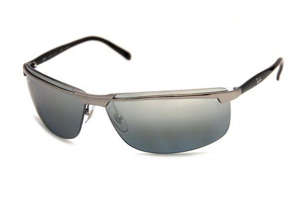 Очки Ray-Ban Highstreet RB3308-004-82 Gunmetal | Poly. Polar Grey Polarized P3