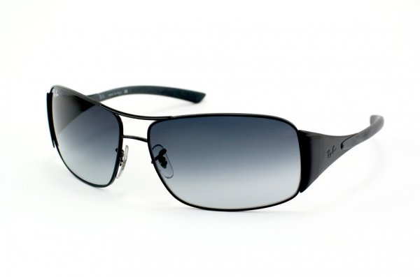 Очки Ray-Ban Highstreet RB3320-002-8G Black | APX Gradient Grey