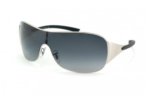 Очки Ray-Ban Highstreet RB3321-042-8G Matte Silver | APX Gradient Grey
