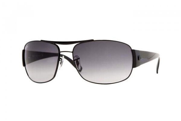 Очки Ray-Ban Highstreet RB3357-002-32 Black |Light Gradient Grey