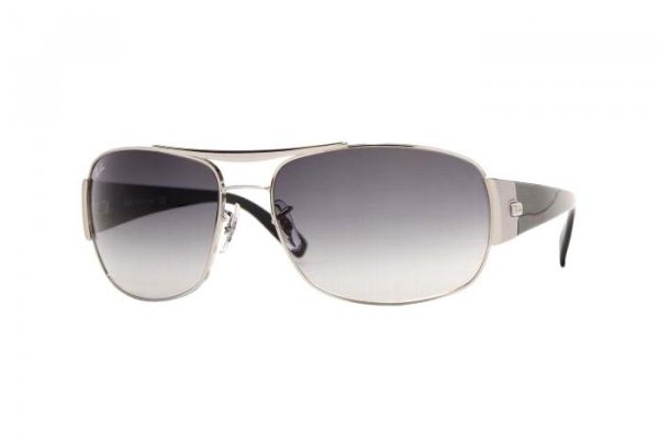 Очки Ray-Ban Highstreet RB3357-003-32 Silver/Gradient Grey