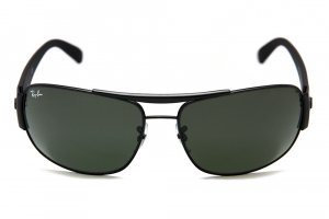 Очки Ray-Ban Highstreet RB3357-006 Matte Black/Natural Green (G-15XLT)