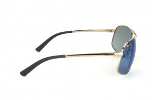 Очки Ray-Ban Highstreet RB3387-001-55 Arista/Blue Mirror
