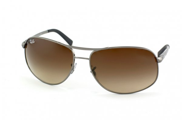 Очки Ray-Ban Highstreet RB3387-004-13 Gunmetal/Poly. Gradient Brown