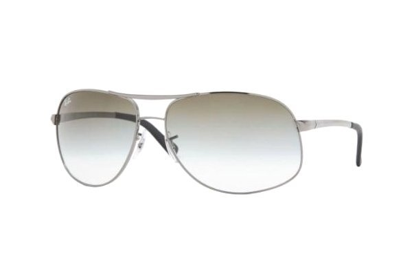 Очки Ray-Ban Highstreet RB3387-004-8E Gunmetal/APX Gradient Green