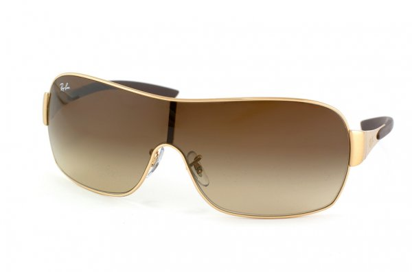 Очки Ray-Ban Highstreet RB3392-001-13 Arista | Poly. Gradient Brown