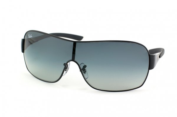 Очки Ray-Ban Highstreet RB3392-002-8G Black | APX Gradient Grey