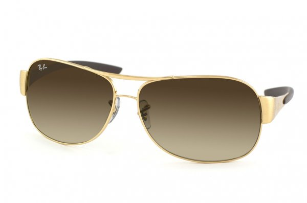 Очки Ray-Ban Highstreet RB3404-001-13 Arista | Poly. Gradient Brown