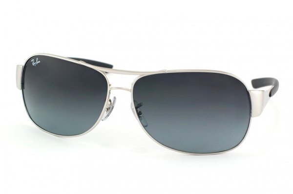 Очки Ray-Ban Highstreet RB3404-003-8G Silver | APX Gradient Grey
