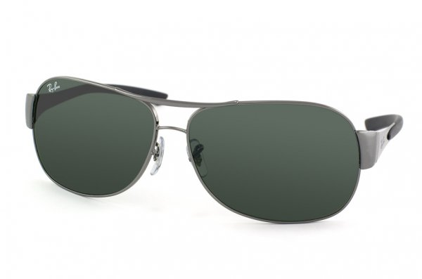 Очки Ray-Ban Highstreet RB3404-004-71 Gunmetal | Poly. Grey/Green