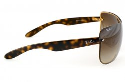 Очки Ray-Ban Highstreet RB3414-001-13 Arista | Poly. Gradient Brown