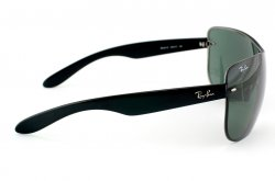 Очки Ray-Ban Highstreet RB3414-004-71 Black/APX Grey/Green
