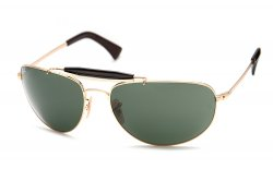 Очки Ray-Ban Highstreet RB3423-001 Arista/Natural Green (G-15XLT)
