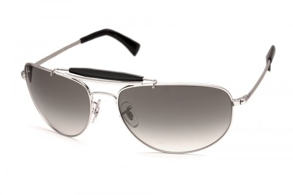 Очки Ray-Ban Highstreet RB3423-003-32 Silver/Gradient Grey