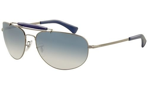 Очки Ray-Ban Highstreet RB3423-004-3F Gunmetal | Light Blue Gradient