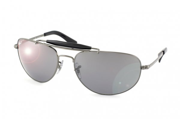 Очки Ray-Ban Highstreet RB3423-004-K3 Gunmetal/Polar Grey GSM
