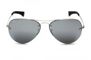 Очки Ray-Ban Highstreet RB3449-003-6G Silver | APX Silver Mirror