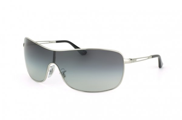 Очки Ray-Ban Highstreet RB3466-003-8G Silver/APX Gradient Grey