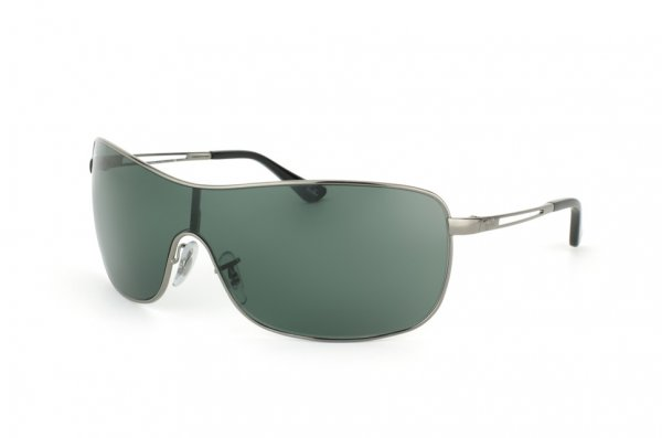 Очки Ray-Ban Highstreet RB3466-004-71 Gunmetal | APX Grey/Green