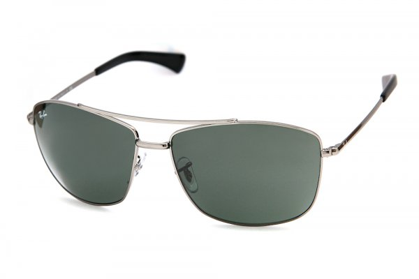 Очки Ray-Ban Highstreet RB3476-004-71 Gunmetal/Poly. Grey/Green