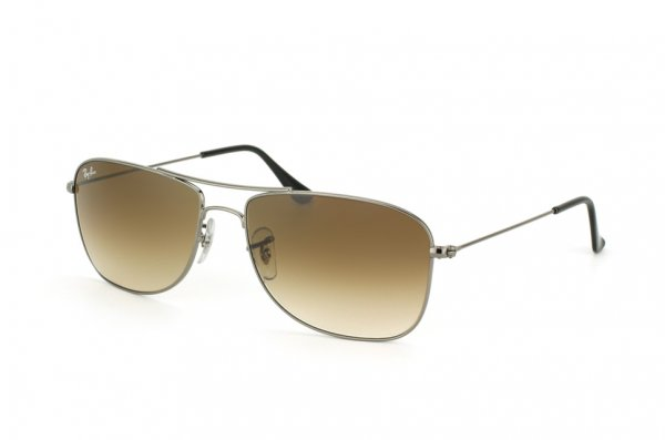 Очки Ray-Ban Highstreet RB3477-004-51 Gunmetal | Faded Brown