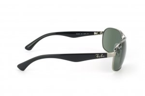 Очки Ray-Ban Highstreet RB3492-004 Gunmetal | Natural Green (G-15XLT)