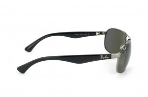 Очки Ray-Ban Highstreet RB3492-004-58 Gunmetal | Natural Green Polarized